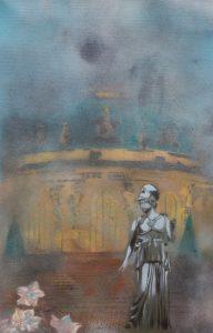 "Sanssouci ""Morgenstimmung"" 30 x 40 cm"